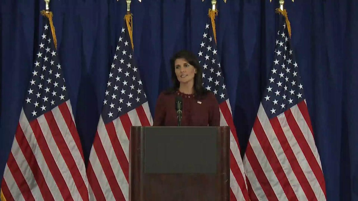 Ambassador @NikkiHaley on #UNGA It was a solid week at the @UN, and it was highly successful. #USAatUNGA