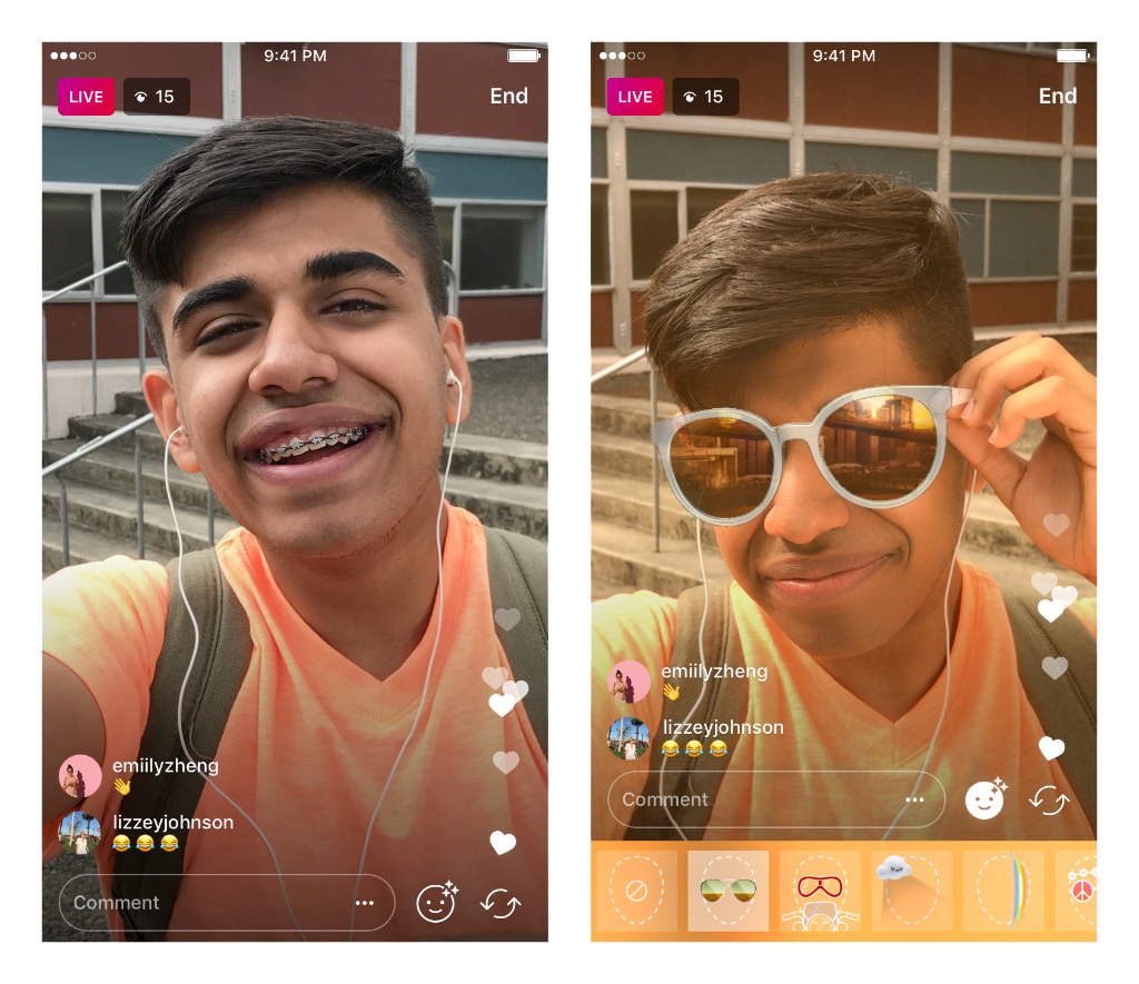 Instagram brings face filters to live video https://t.co/qfmovjMBcx https://t.co/5lYkFHtge4