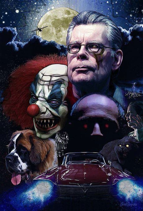 Happy 70th Birthday to Stephen King       .