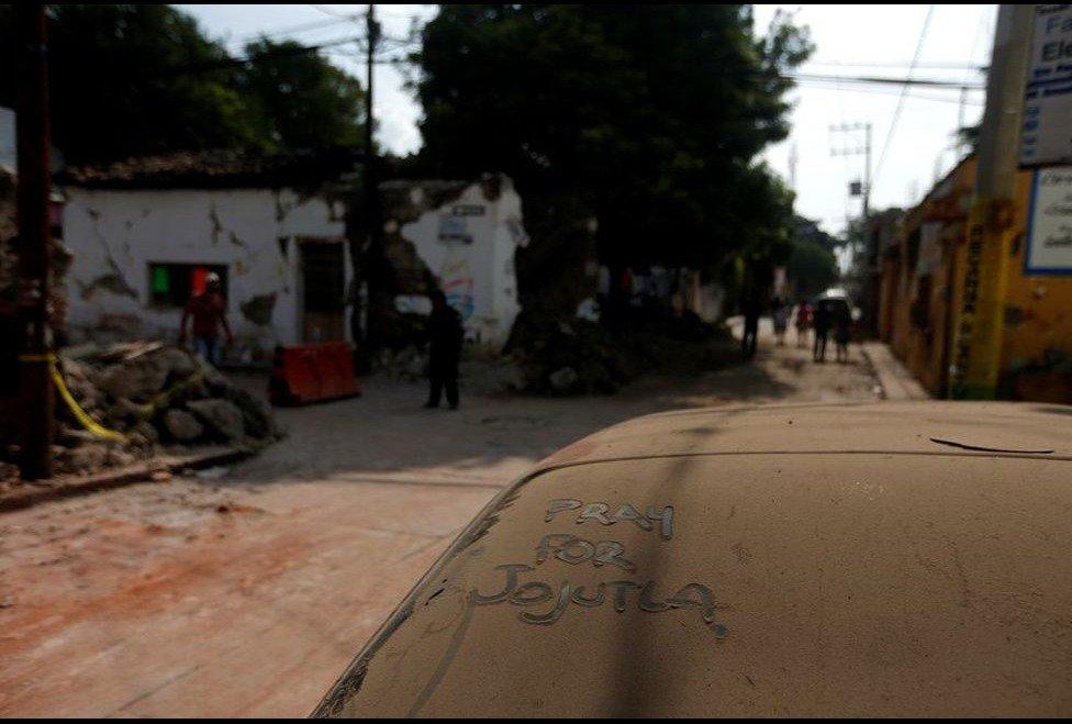 �� #Fotogalería | Los estragos que dejó el #sismo en #Jojutla https://t.co/AlpX8Rn1pt   #SomosMéxico #SismoMéxico2017 https://t.co/SYHNGU2mol