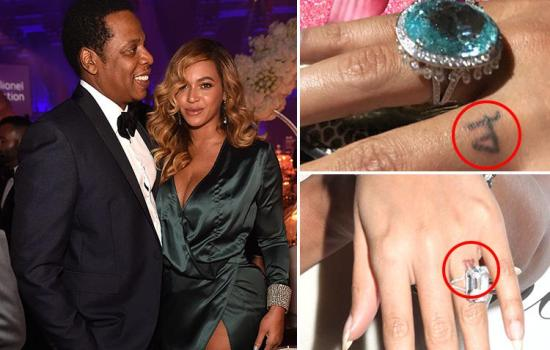 Beyonce's new tattoo tribute to Jay Z proves she's finally forgiven him for cheating on her