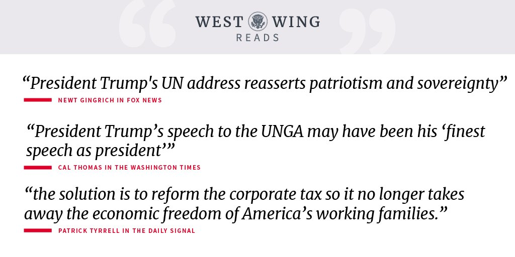 Today's West Wing Reads: https://t.co/C0VwXgysWl https://t.co/Gfykw2pyFc