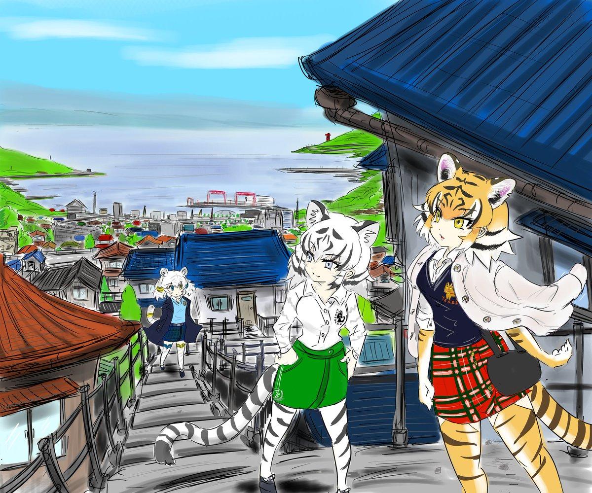横浜市とハマトラたちポロシャツにベストやカーディガン、巻きスカート等を合わせるハマトラファッションは雑誌企画によって横浜