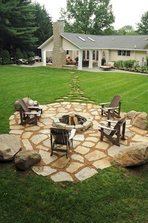 test Twitter Media - We found this #Rustic #Patio with #Pathway and #fire #pit on Pinterest, Like it? #Flagstone #Exterior #Stone https://t.co/RmUJMNNGsA
