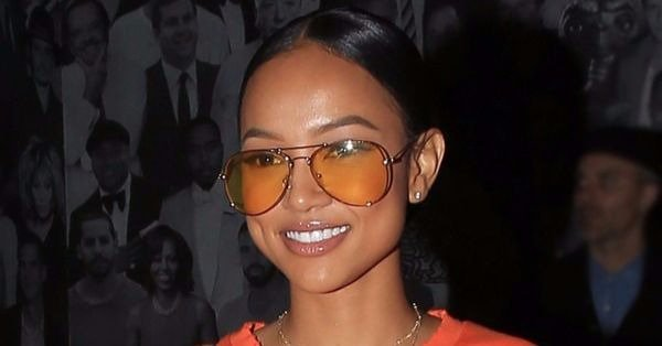 Karrueche Tran is opening up about her restraining order against Chris Brown: