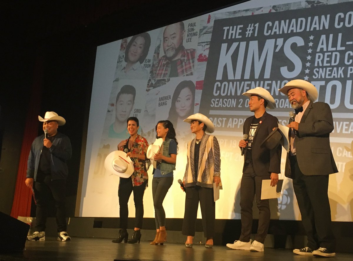 An absolute honour. Thank you for the White Hatting, #Calgary!  #KimsO...