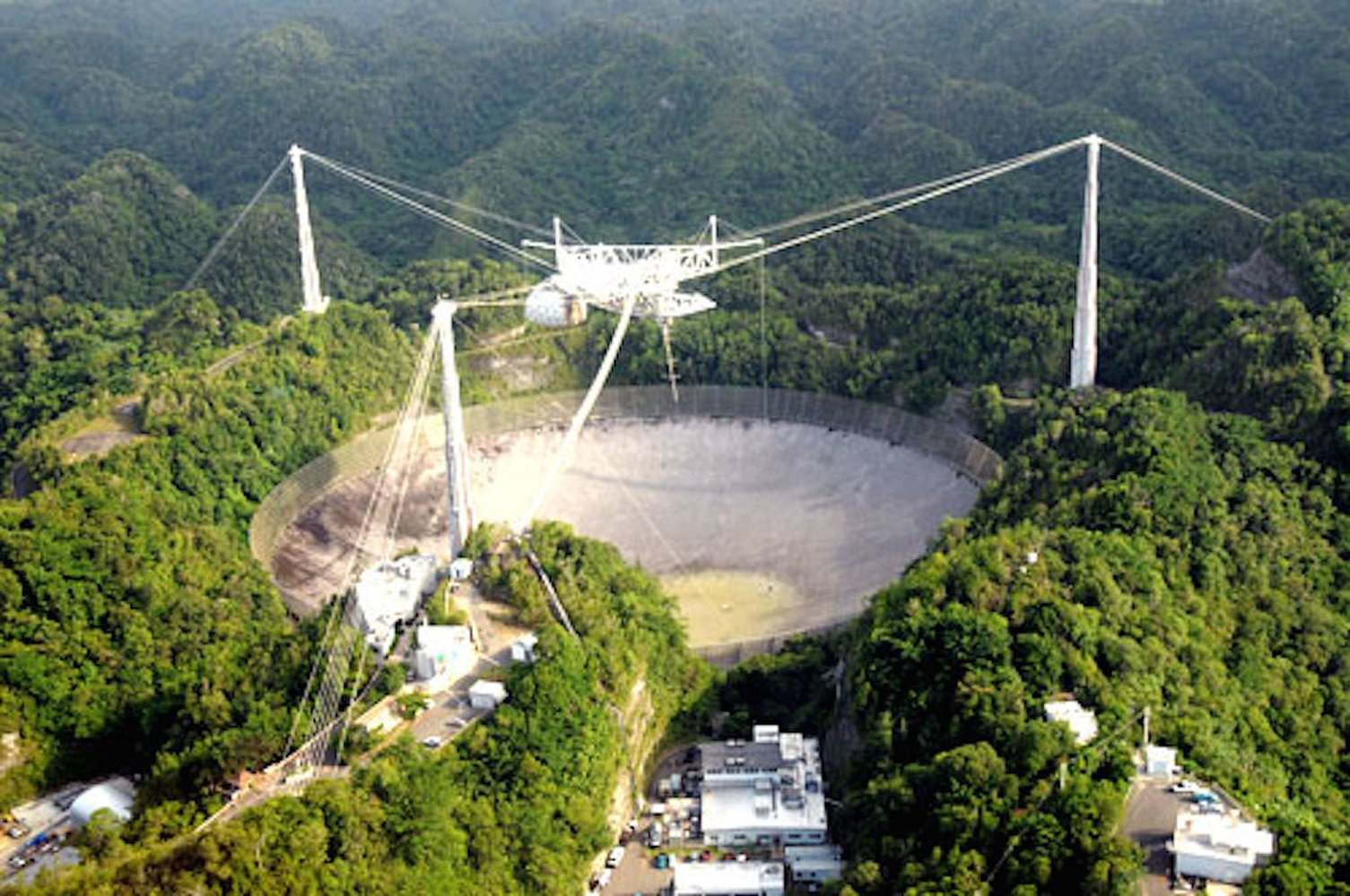 Arecibo Observatory Remains Offline After Being Buffeted by Hurricane Maria https://t.co/01SbQyJmt1 https://t.co/HwVkiJcYnu