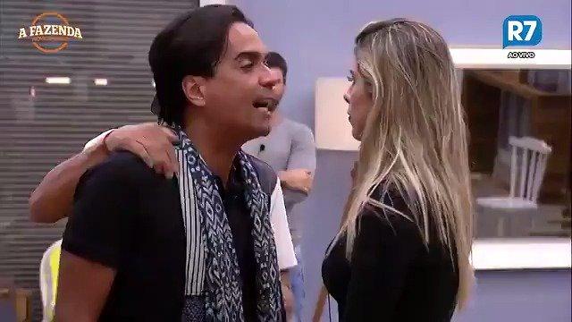 O bicho pegou entre Ana Paula Minerato e Fábio Arruda #AFazenda 😱😱😱 h...