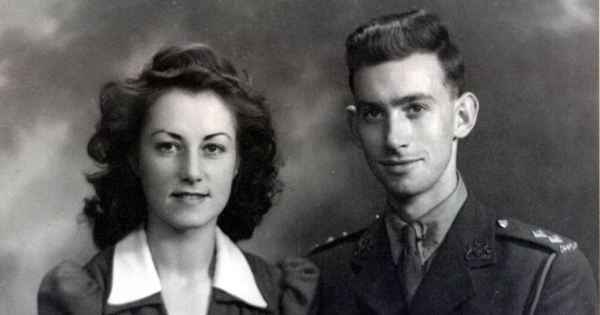 British war bride and Canadian veteran husband die just hours apart a month after celebrating 75th anniversary