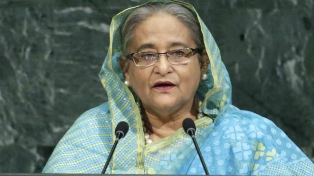 Bangladesh PM Sheikh Hasina urges UN-supervised 'safe zones' for Myanmar's Rohingya Muslims