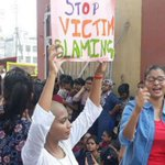 Ahead of PM Modi's Varanasi visit, BHU girl students block road to protest against molestation incident