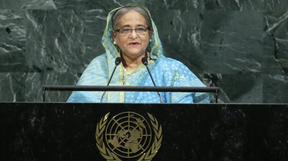 Bangladesh's Sheikh Hasina asks #UNGA to create safe zones for Rohingya