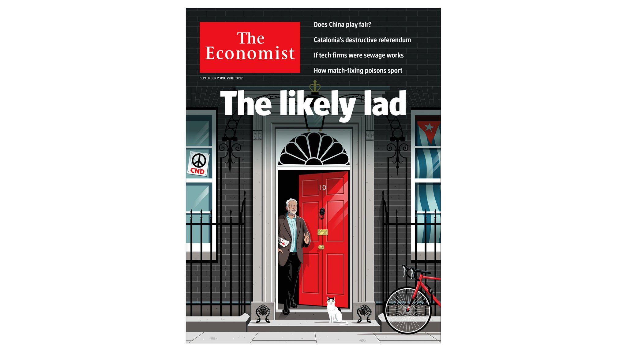 Could Jeremy Corbyn be Britain's next prime minister? Our UK cover this week https://t.co/S0i9KuG1IX https://t.co/KMPdy1g3WY