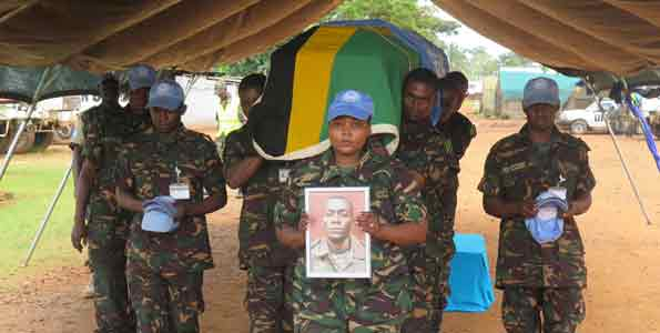UN Security Council condemns killing of Tanzanian peacekeeper in DRC