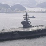 US Navy carrier drills with Japanese navy amid North Korean tension