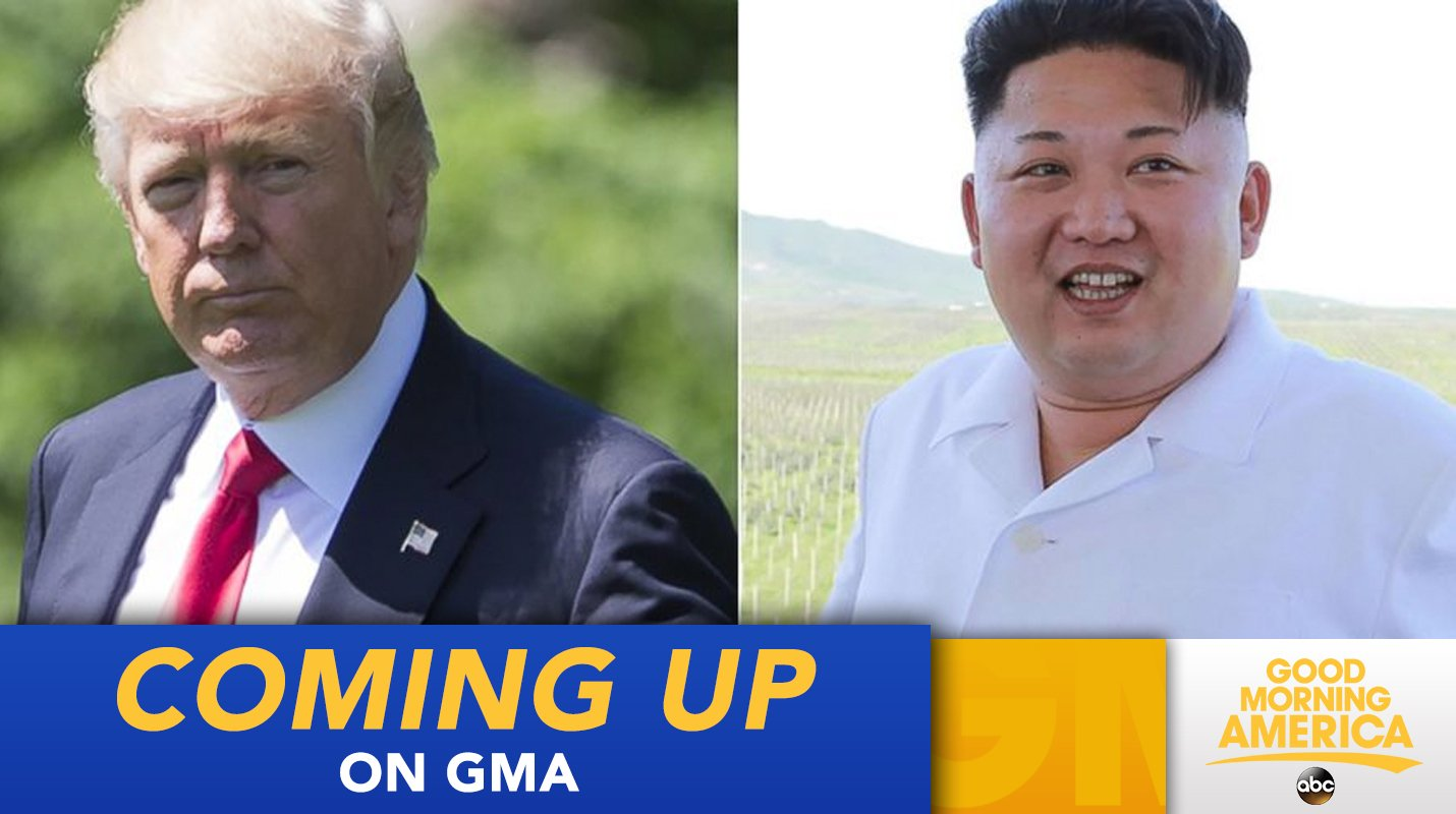 COMING UP ON @GMA: Kim Jong Un says President Trump will 'pay dearly' for U.N. speech https://t.co/BHwxEmXT0D