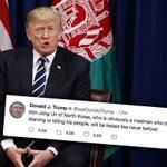Trump reageert ziedend: Kim is een gek