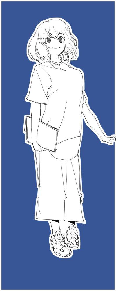 ガッチャマン クラウズのはじめちゃん。FURYめっちゃごまかしてかいてる #リプ来たキャラに自分の私服を着せる
