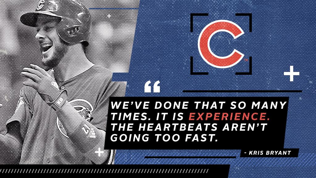 Big games bring out the best in the @Cubs. https://t.co/RTZFN3JzU2 https://t.co/brISE5nyMi