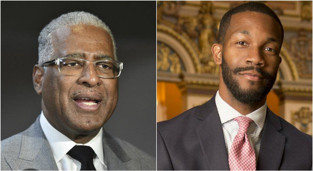 Face-off: Bell and Woodfin in fiery mayoral runoff debate