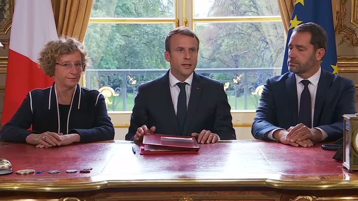 ?? France: Emmanuel Macron signs controversial labour reforms into law