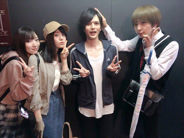 事務所の同期の奥山敬人くんが出演している舞台、超!脱獄歌劇「ナンバカ」を観劇させて頂きました!同期が舞台で頑張ってる姿は
