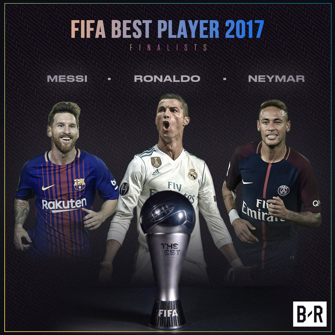 RT @brfootball: 🇦🇷 Messi 🇵🇹 Ronaldo 🇧🇷 Neymar  Who you got for #TheBest Men's Player? https://t.co/yzuM3exnME