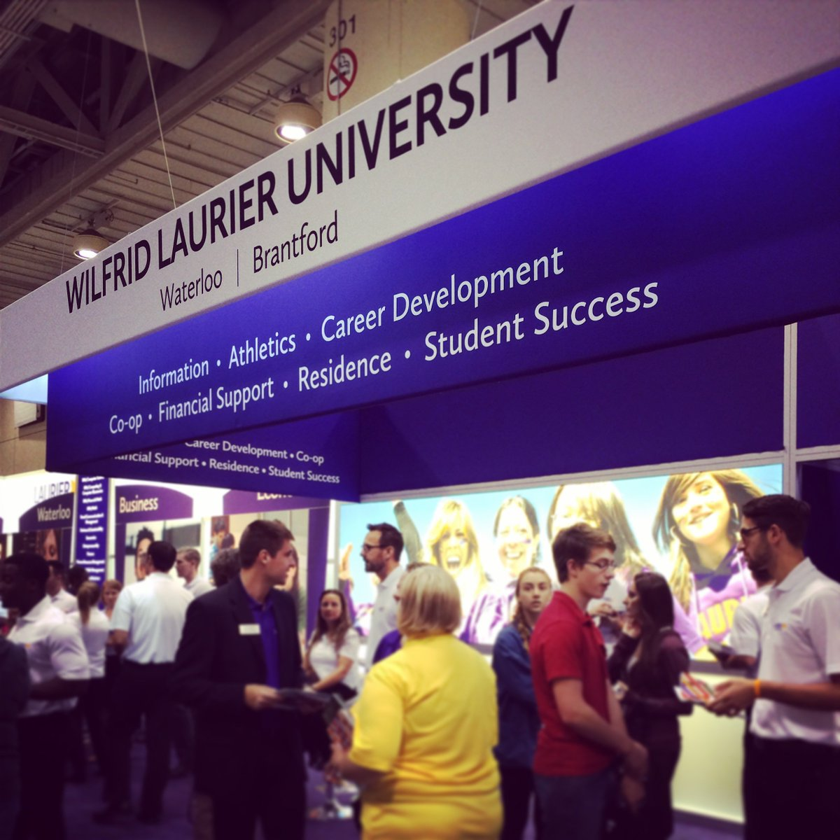 It's #OUF2017! Make sure to stop by the #Laurier booth and learn about...