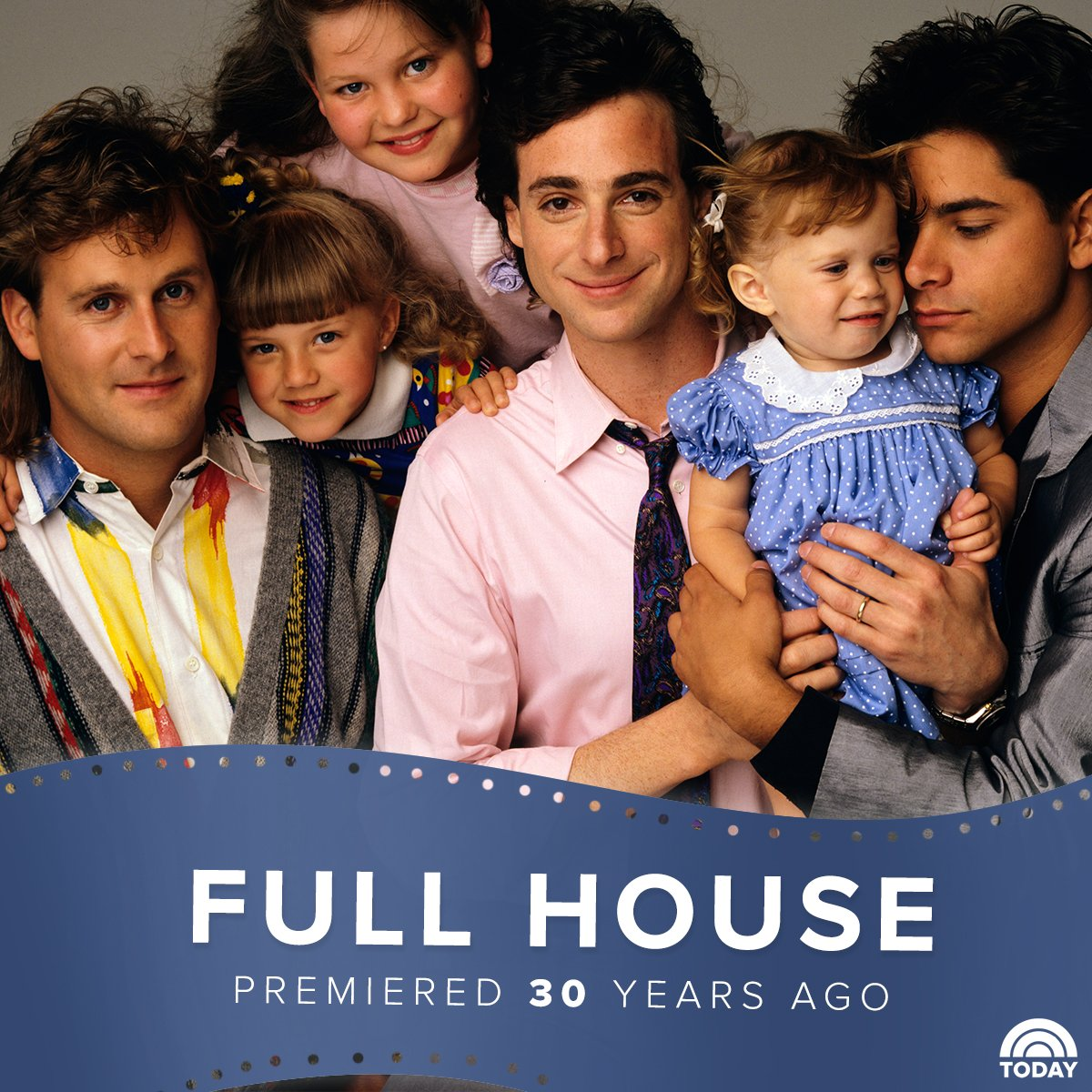 """Oh, Mylanta! """"Full House"""" premiered 30 years ago today."""