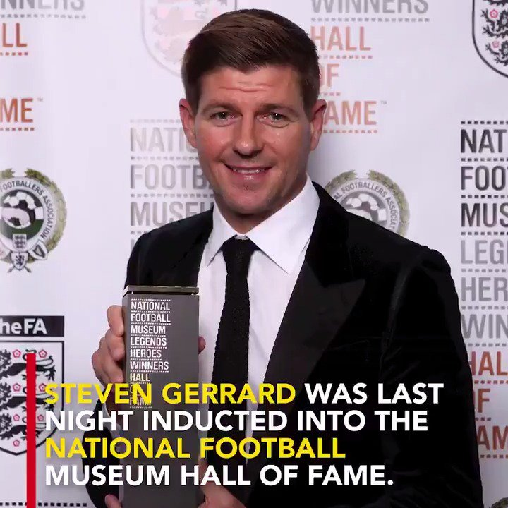 Steven Gerrard. Hall of Fame. �� https://t.co/eDrdWl2mbA