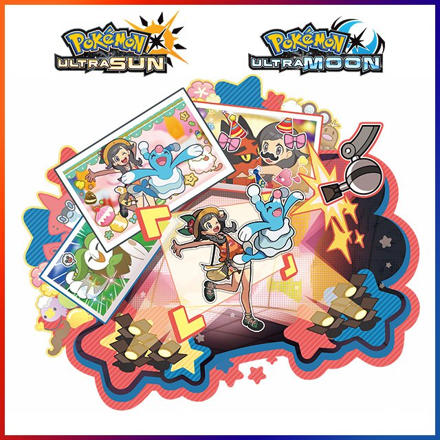 Take photos with your favorite Pokémon in the brand new Alola Photo Club! #PokemonUltraSunMoon https://t.co/9z3uDnCQIL