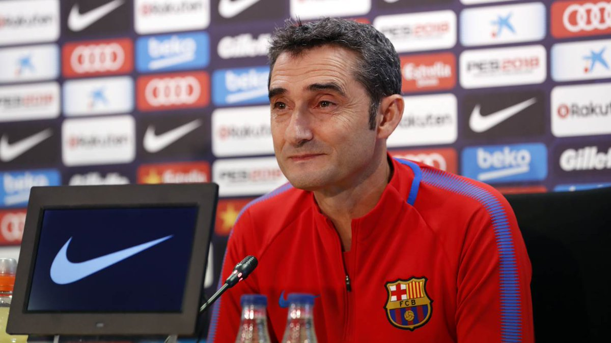 �� [LIVE] Follow Ernesto Valverde's press conference���� #FCBlive https://t.co/NdV0w8AX8T https://t.co/gEl1YjD0HP