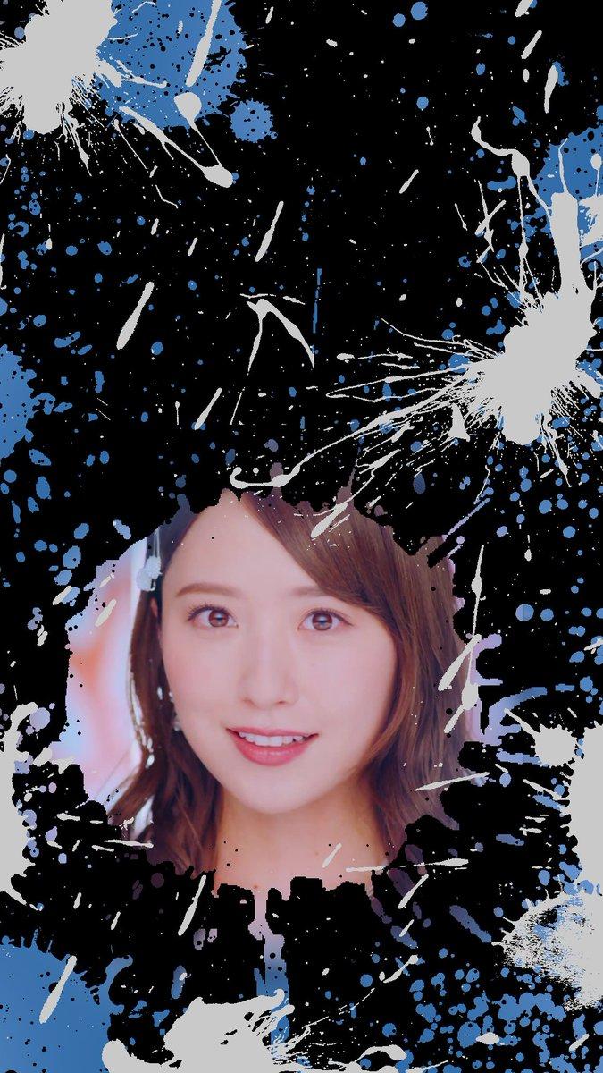 衛藤美彩 ロック画面用画像です。よかったら使って下さい。  #