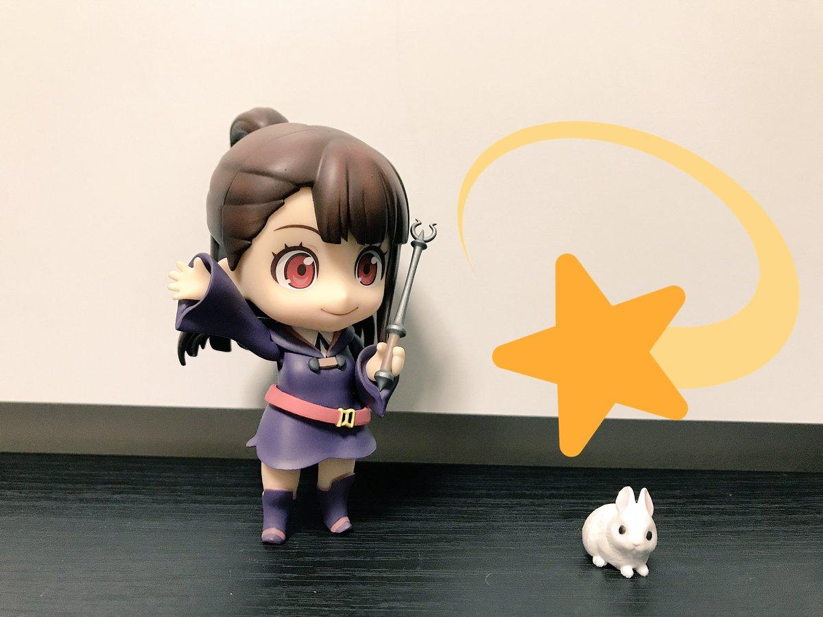 アッコ「メタモールフィーフォシエス!」(ポンッ☆)アッコ「!?」#LWA_jp