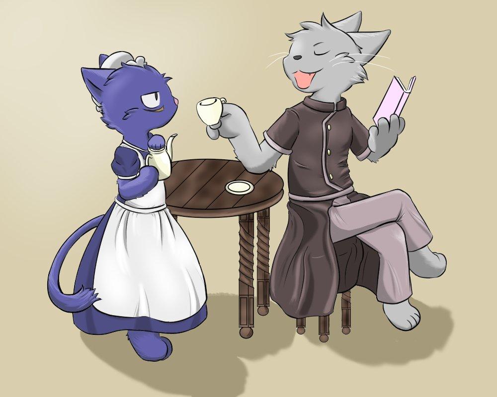 「少年メイドくん。紅茶のお代わりをくれたまえよ」「(他人の屋敷なのに、なに言ってんのコイツ・・・)」