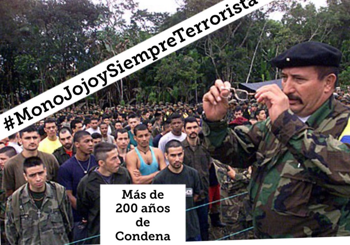 RT @FNAraujoR: No aceptamos homenajes a bandidos  #MonoJojoySiempreTerrorista https://t.co/3OL2GT9klA