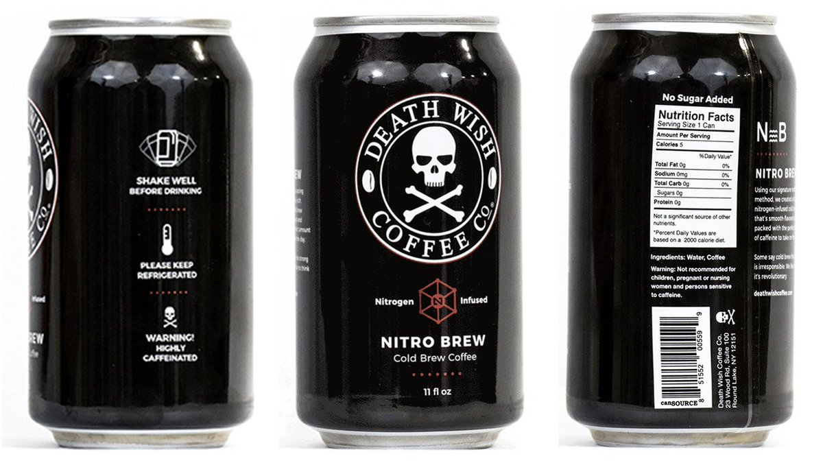 Recall alert Coffee from company called 'Death Wish' could cause death