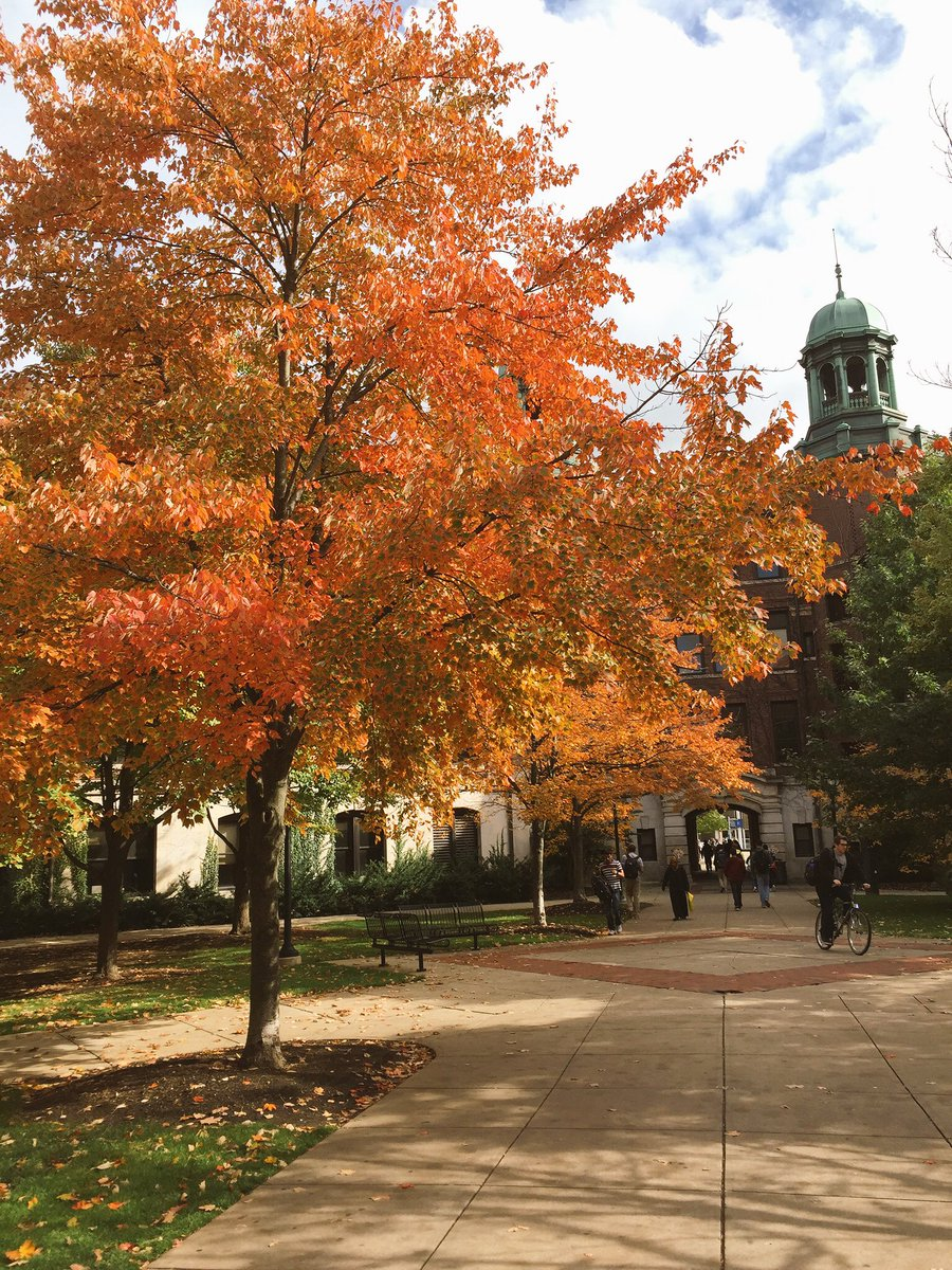 RT @stacyytchen: Missing the beautiful colors of Ann Arbor #FirstDayofFall  @UMich https://t.co/fsJAdl1lrY
