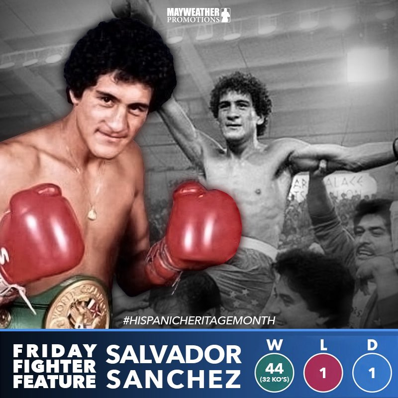 test Twitter Media - #FridayFighterFeature We highlight one of the greatest featherweights of all time, the late Salvador Sanchez for #HispanicHeritageMonth. 🥊 https://t.co/W7Z492HOdh