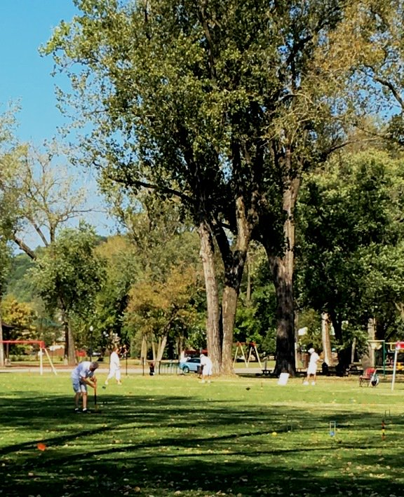 test Twitter Media - Check out these photos taken @parkvillemo in English Landing Park of visitors playing croquet. Thank you Tina W. for sharing! https://t.co/ZvkKkbHImx