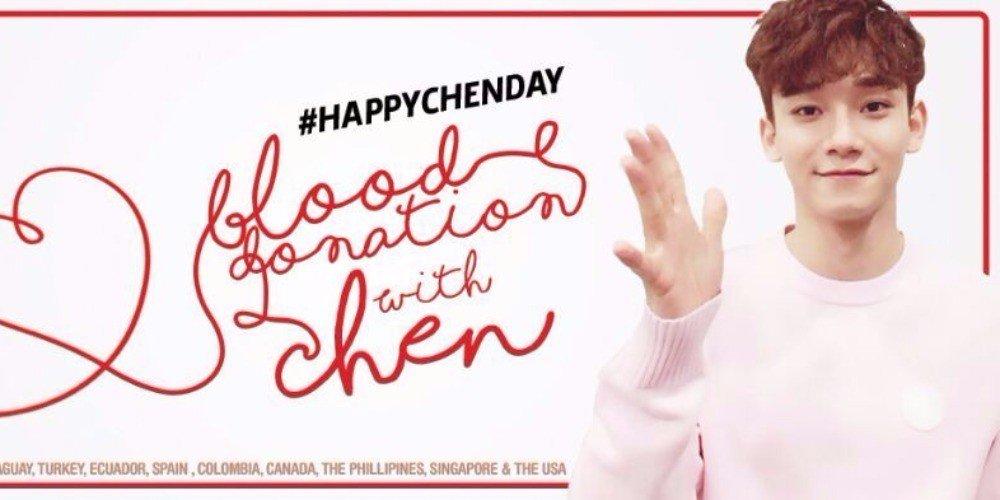Fans donate blood in celebration of #EXO Chen's birthday https://t.co/SzK4zddioW https://t.co/IrWi1UV2ob