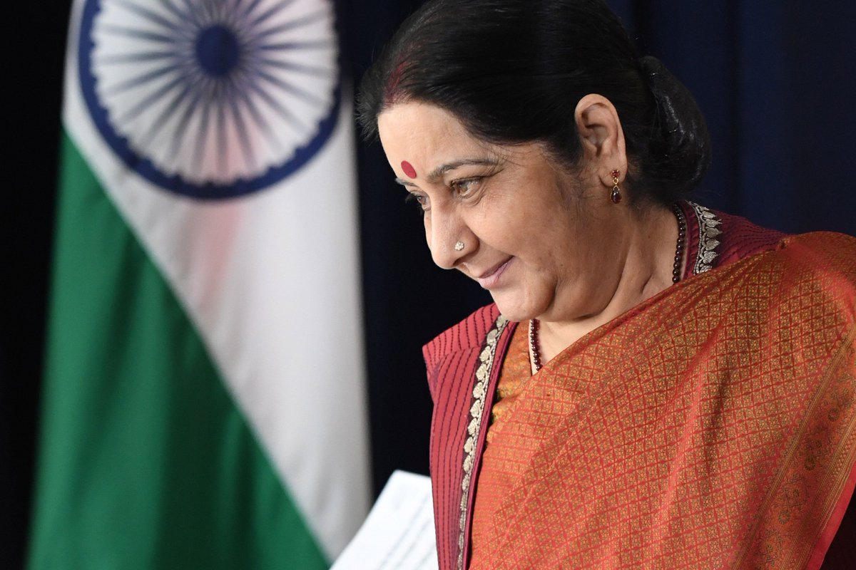 Threats endangering South Asia's peace and stability on rise @SushmaSwaraj