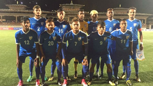 Football: India thrash Bhutan 3-0 in SAFF U-18 Championships