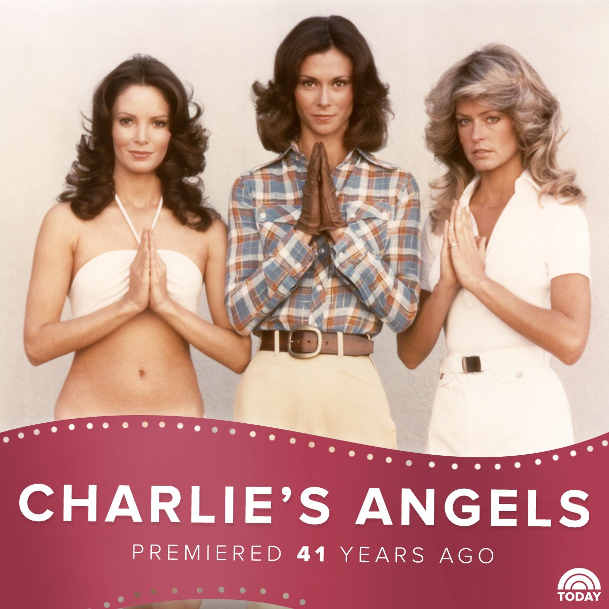 Once upon a time 41 years ago… the world was introduced to Charlie's Angels.