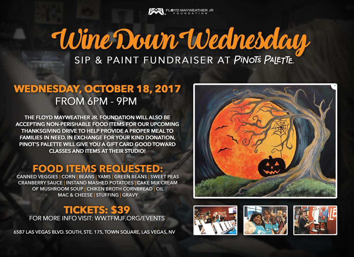 test Twitter Media - JOIN US! Wednesday Oct. 18th from 6-9pm for another #WineDownWednesday Sip & Paint fundraiser at Pinot's Palette! 🎨🍷https://t.co/eMvUt5IMdu https://t.co/Q6rp6iw54b