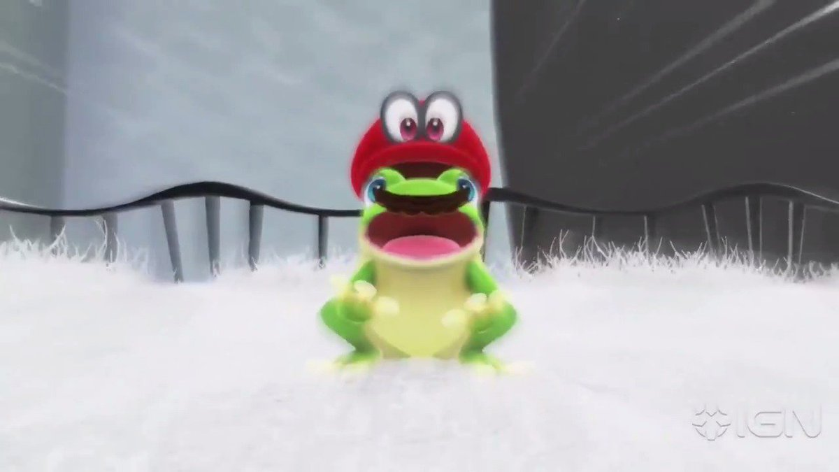 These are the weirdest things you can turn Mario into in #SuperMarioOdyssey!