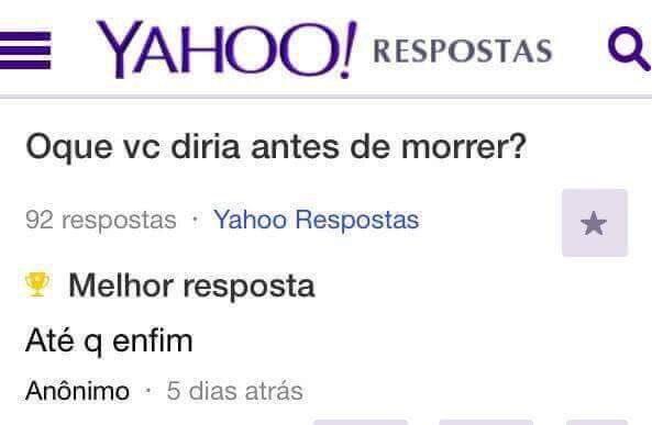 #SeOMundoAcabarAmanhaEu