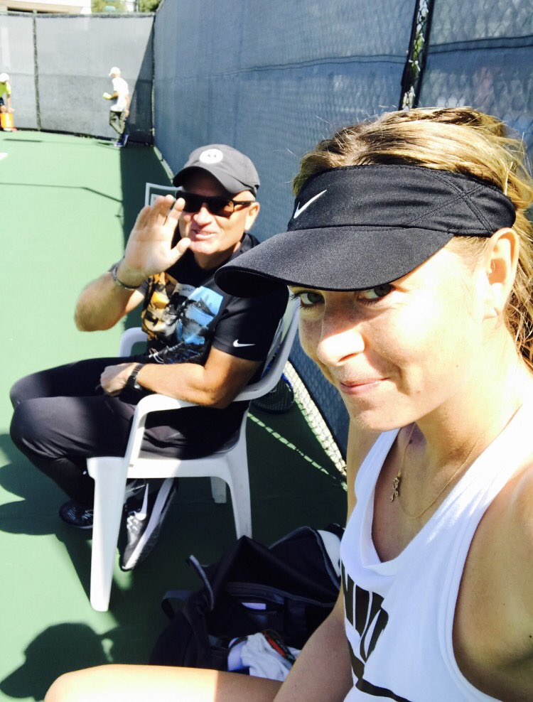 Spent the week on court with this guy...He's definitely softened up over the years ???? https://t.co/Sri8HyQ7RE