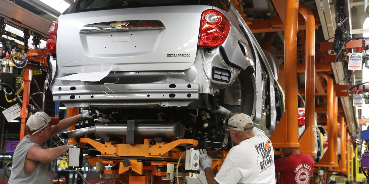 General Motors to furlough 3rd shift at Spring Hill, Tenn., plant as demand slows