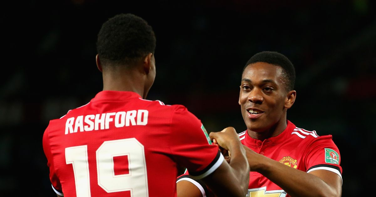 Manchester United great decides whether Anthony Martial or Marcus Rashford should start